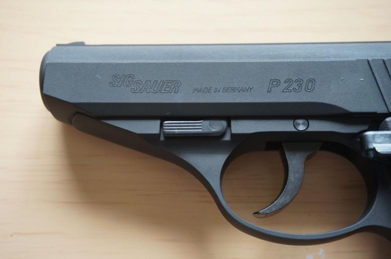 SIG P230 レビュー 追加 (3)