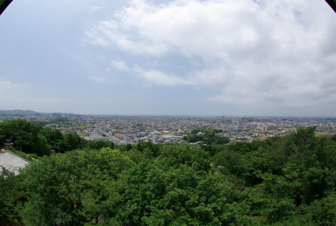 八ツ面山からの景色