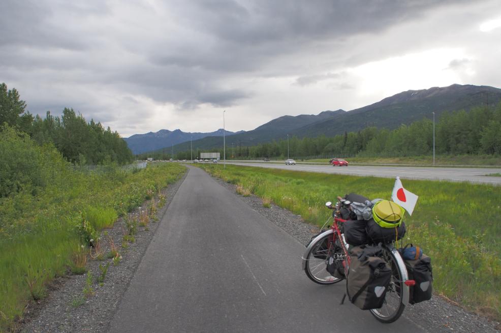 アラスカ自転車20150605