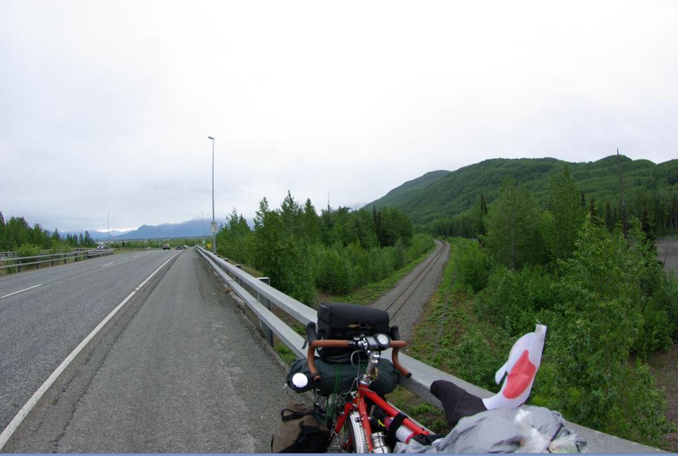 アラスカサイクリング20150605