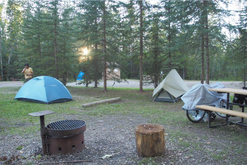 20150818カナダ無料キャンプ場