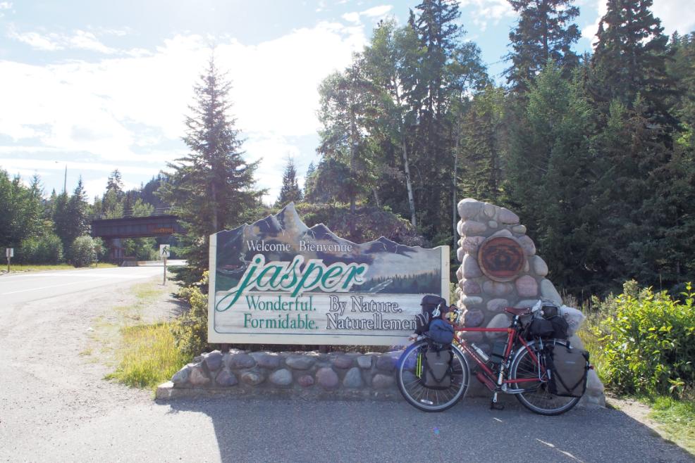 20150822自転車ジャスパーサイクリング