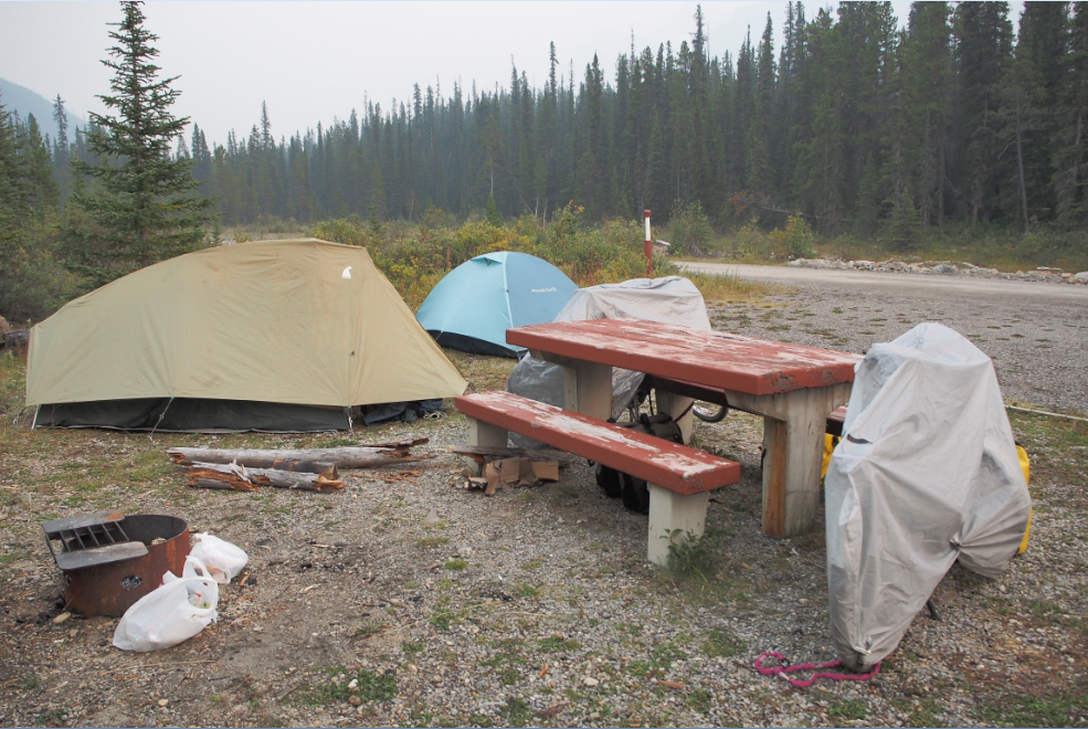 20150825アイスフィールドパークウェイキャンプ場
