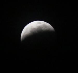 皆既月食②