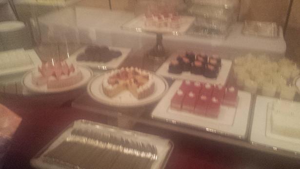 オフ会ケーキ