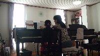 ピアノレッスン 小学校1年生