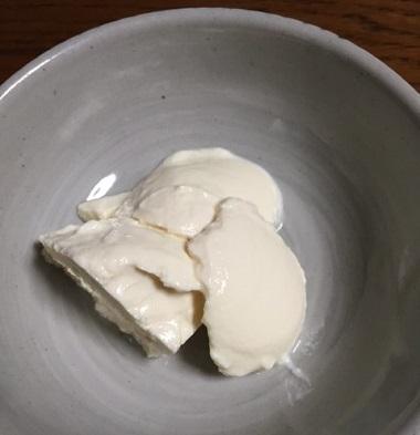 豆乳花ヨーグルト1