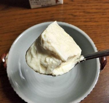 豆乳花ヨーグルト3