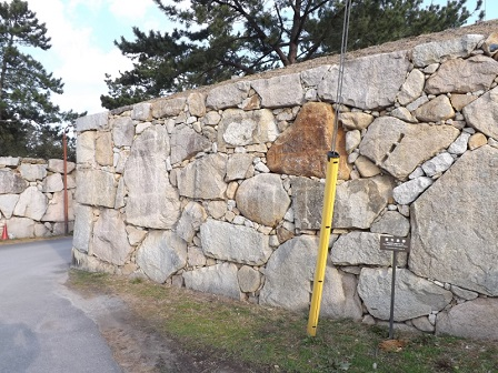HA20萩城二ノ丸東門石垣
