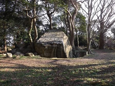 HA29萩城詰丸本丸跡