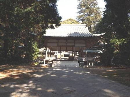 HA31志都岐山神社拝殿