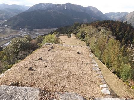 TU17津和野城三十三間台と人質櫓