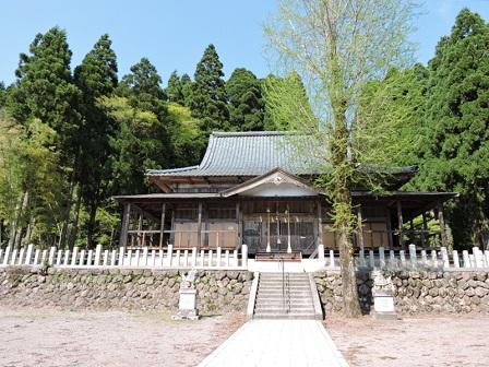 6池田町水海鵜甘神社