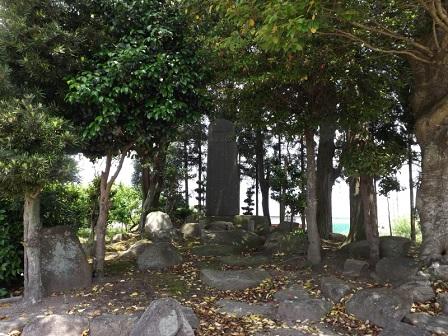 27野洲市祇王屋敷跡石碑