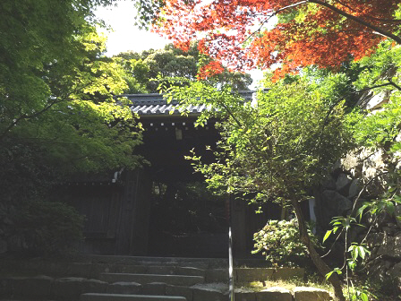 7村雲瑞龍寺山門