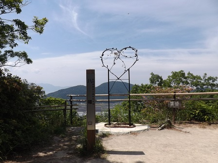 14八幡山頂展望所