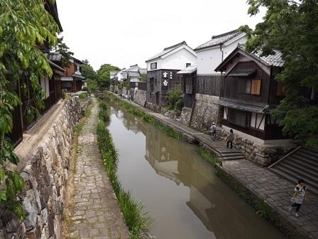 22八幡堀(参道わきから)