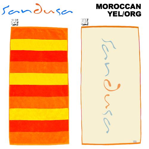 SANDUSAビーチタオル-YEL_ORG