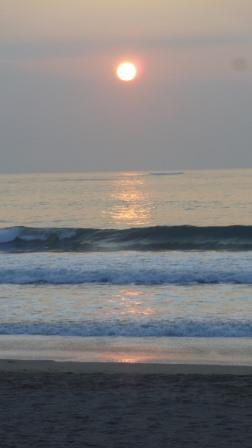 2014年12月30日の七ヶ浜の日の出2