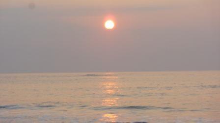 2014年12月30日の七ヶ浜の日の出3