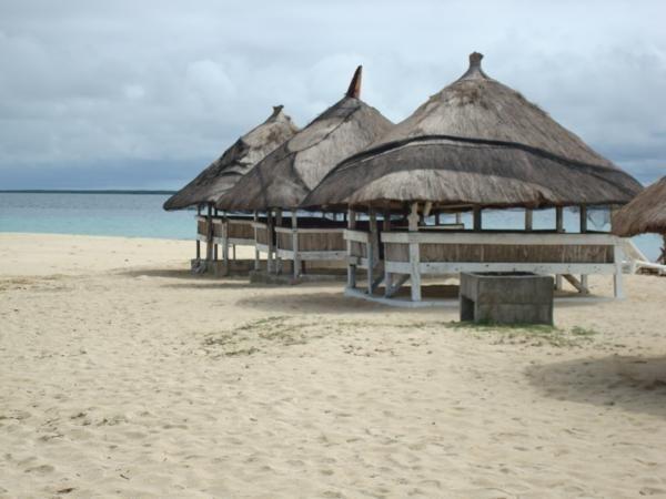 島のコテージ