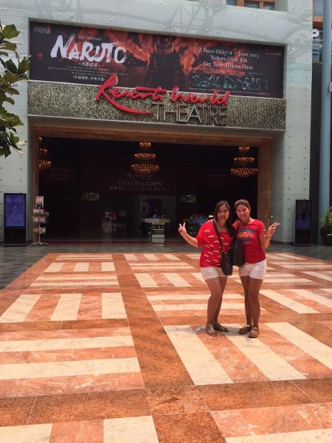 Inside the casino of resort world hotel