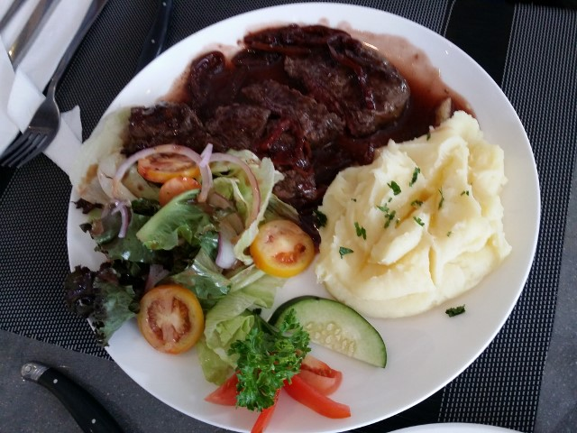 ハナの選んだステーキ