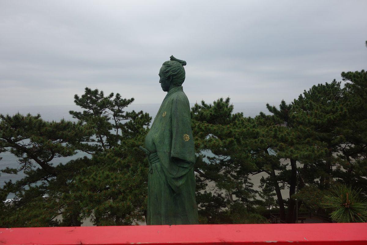 桂浜の坂本龍馬4