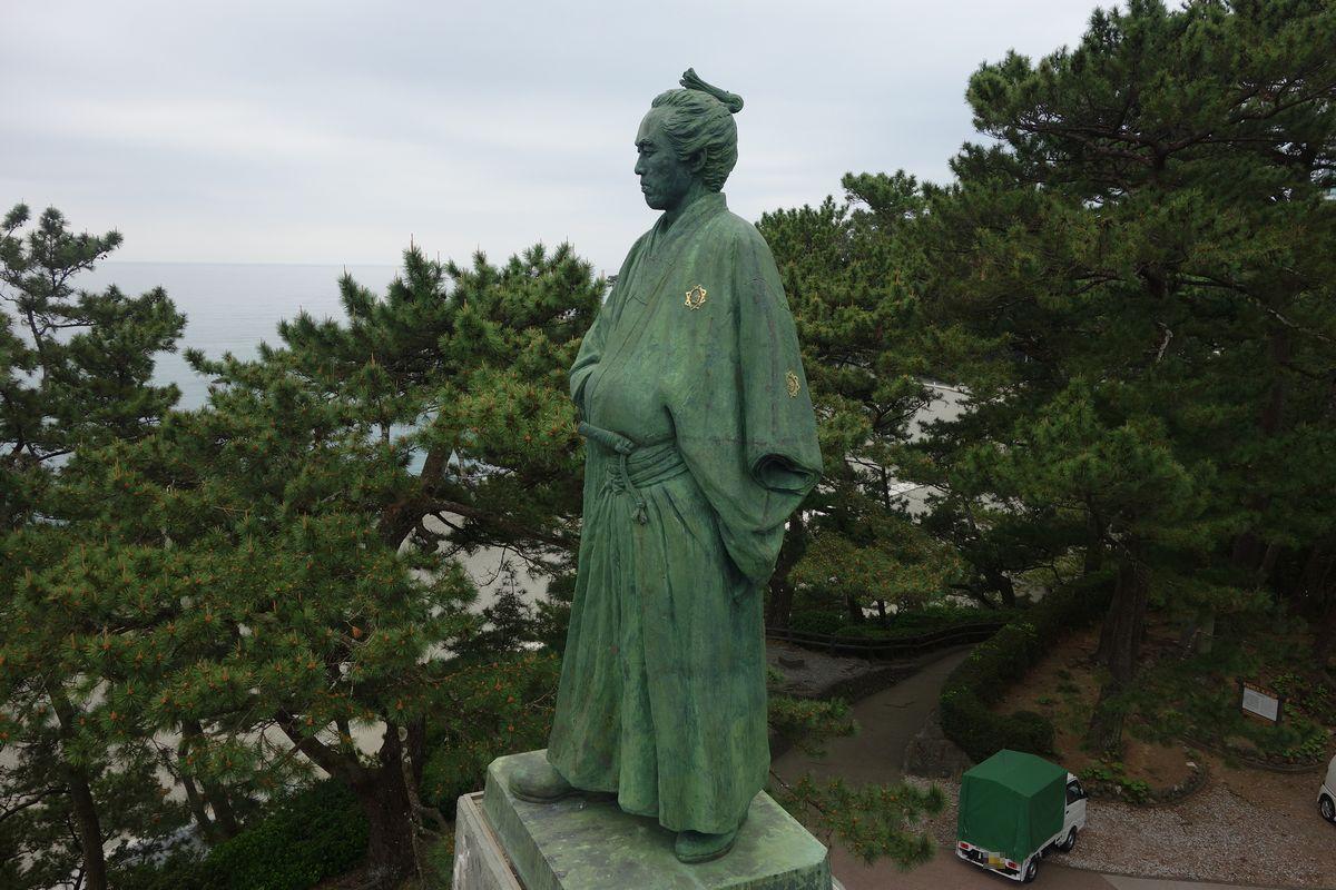 桂浜の坂本龍馬5