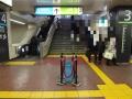 ある日の西日暮里駅