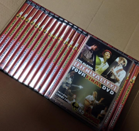 WINDJAMMER DVDS