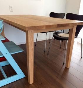 テーブル(横)