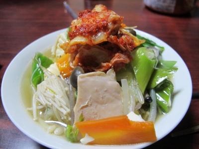 鶏肉と鶏団子鍋
