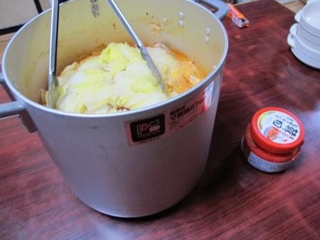 豚と白菜とトマト缶の重ね蒸し