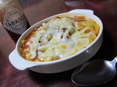 トマト鍋ドリア