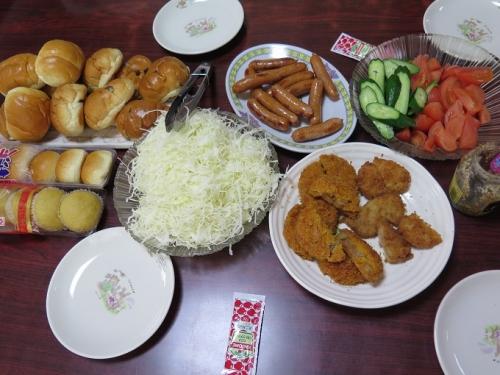 翌日の昼ご飯