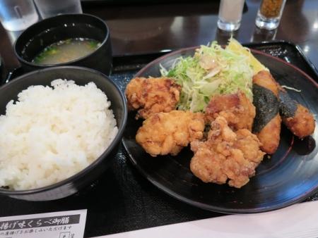 鶏唐食べ比べ膳
