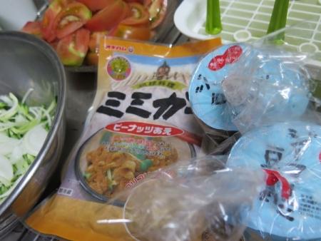 ミミガーとジーマミー豆腐