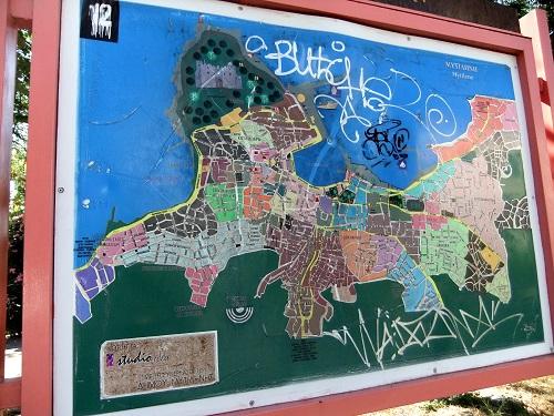 ミティリニの地図