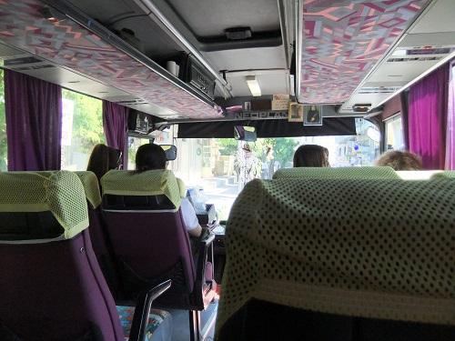 バスでモリヴォスへ (1)
