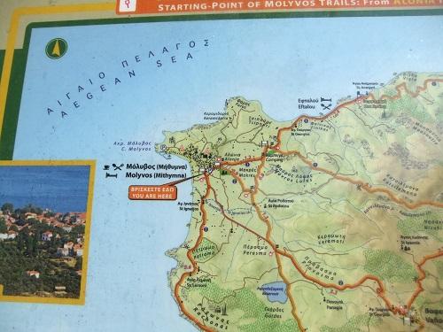モリヴォス付近地図