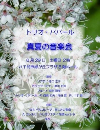02真夏の音楽会ババール2015