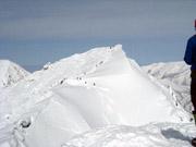 038もう一つの山頂「オキの耳」を見る