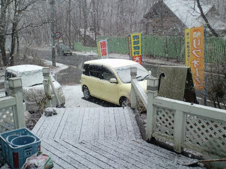H27.4.13雪降り始め