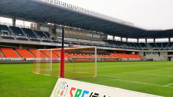 約1カ月ぶりの長野スタジアム