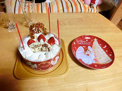 不二家の「苺のスペシャルショートケーキ SSサイズ
