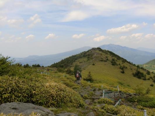湯の丸山(北峰へ)