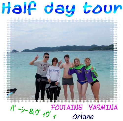 Half day tour