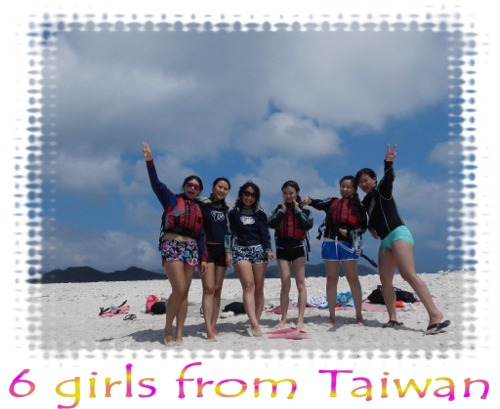 6 girls from Taiwan