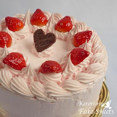 ピンクケーキ